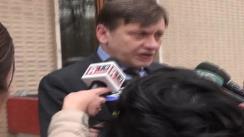 Declarațiile lui Crin Antonescu după ședința Partidului Național Liberal