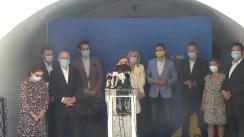 Conferință de presă susținută de președintele Partidului Național Liberal București, Violeta Alexandru