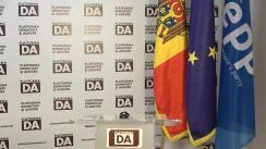 """Conferință de presă organizată de Partidul Platforma Demnitate și Adevăr cu tema """"Apelul la Victorie!"""""""