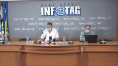 """Conferință de presă organizată de Asociația Sociologilor și Demografilor din Republica Moldova cu tema """"Rezultatele studiului sociologic: Stratificarea socială în Republica Moldova după trei decenii de independență"""""""