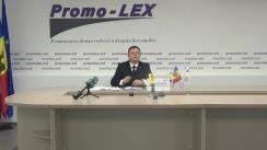 Conferință de presă organizată de Asociația Promo-LEX privind lansarea primului Raport al Misiunii de observare a alegerilor pentru funcția de Președinte al Republicii Moldova din 1 noiembrie 2020