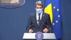 Conferință de presă după Ședința Guvernului României din 24 august 2020