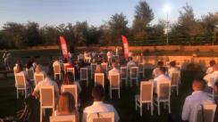 """Concert susținut de Moldovan National Youth Orchestra în cadrul expediției muzicale """"La La Play 2020"""" în satul Roșu, raionul Cahul"""