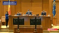 Ședința în plen a Camerei Deputaților României din 1 septembrie 2020