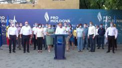 Conferință de presă PRO MOLDOVA, după ședința Consiliului Național Politic