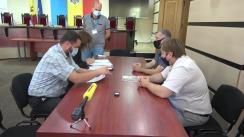 Depunerea documentelor pentru înregistrarea grupului de inițiativă în vederea susținerii candidatului la funcția de Președinte al Republicii Moldova din partea Partidului Regiunilor din Moldova