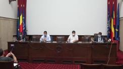 Conferință de presă organizată de Alianța pentru Agricultură și Cooperare, de prezentare a problemelor cu care se confruntă fermierii în acest an agricol
