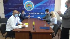 Depunerea documentelor pentru înregistrarea grupului de inițiativă în vederea susținerii candidatului la funcția de Președinte al Republicii Moldova din partea Partidului Acțiune și Solidaritate
