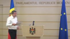 """Briefing de presă susținut de către deputatul Lilian Carp cu tema """"Fărădelegile de la Cariera Micăuți"""""""