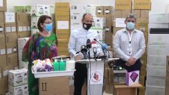 Prezentarea trusei sanitare care va fi pusă la dispoziția elevilor ce învață la școlile și liceele din sectorul 4 al Municipiului București