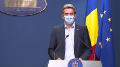 Conferință de presă după ședința Guvernului României din  3 septembrie 2020