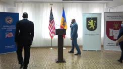 Ceremonia de donare de către SUA a unui lot de echipamente de protecție subdiviziunilor Ministerului Afacerilor Interne și Ministerului Justiției