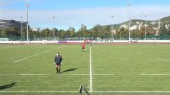 Meciul de Rugby între CS Universitatea Cluj - ACS Tomitanii Constanța. SuperLiga CEC BANK 2019-2020 (joc de clasament 5-6)