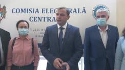 Declarații după depunerea listelor de subscripție cu semnături de către Partidul Platforma Demnitate și Adevăr