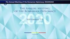 Sesiunea de deschidere a Reuniunii Anuale a Diplomației Române