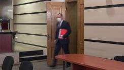 Grupul de inițiativă privind înregistrarea candidatului la alegerile Președintelui Republicii Moldova, condus de Vlad Batrîncea, depune actele la Comisia Electorala Centrală