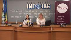 """Conferință de presă organizată de Date Inteligente (iData) cu tema """"Prezentarea rezultatelor studiului socio-politic Barometrul Electoral - ediția de august"""""""