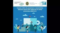 """Prezentarea materialelor didactice pentru IÎPT elaborate în cadrul proiectului """"Activitate de Instruire în Domeniul Antreprenoriatului și Angajării în Câmpul Muncii"""" (MEEETA IV), susținut financiar de către Fundația de Dezvoltare din Liechtenstein. Activitatea de elaborarea a materialelor s-a realizat la inițiativa MECC, cu suportul CEDA"""