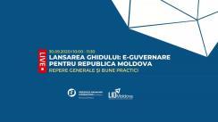 Lansarea ghidului e-Guvernare pentru Republica Moldova