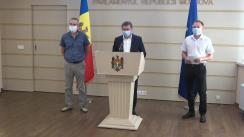 Declarațiile lui Igor Grosu în timpul ședinței Parlamentului Republicii Moldova din 10 septembrie 2020