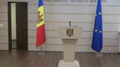 Declarațiile lui Lilian Carp în timpul ședinței Parlamentului Republicii Moldova din 11 septembrie 2020
