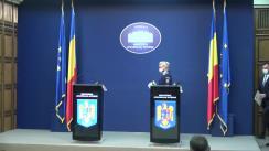Declarație de presă susținută de Secretarul de Stat, chestor șef de poliție Bogdan Despescu, și putătorul de cuvânt al MAI, comisar șef de poliție Monica Dajbog