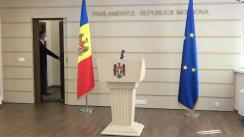 Declarația fracțiunii PRO MOLDOVA în timpul ședinței Parlamentului Republicii Moldova din 11 septembrie 2020