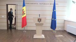 Declarațiile lui Octavian Țîcu în timpul ședinței Parlamentului Republicii Moldova din 11 septembrie 2020