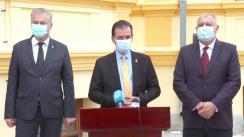 Declarație de presă susținută de Prim-ministrul României, Ludovic Orban, după vizitarea monumentului istoric Poșta Veche din municipiul Călărași
