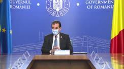 Ședința Guvernului României din 14 septembrie 2020