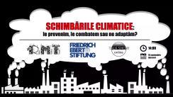 """Dezbaterea publică organizată de Radio Moldova Tineret pe tema """"Schimbările climatice: le prevenim, le combatem sau ne adaptăm?"""""""