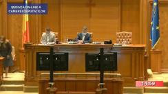 Ședința în plen a Camerei Deputaților României din 14 septembrie 2020