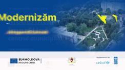 """Evenimentul """"Modernizăm împrEUnă centrul municipiului Ungheni"""""""