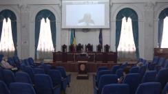 """Lecția publică """"Provocările științei și tehnicii în secolul al XXI-lea"""", susținută de acad. Bogdan C. Simionescu, vicepreședinte al Academiei Române"""