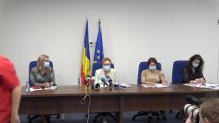 Conferința de presă susținută de Avocatul Poporului de prezentare a concluziilor Raportului privind respectarea drepturilor omului și măsurile excepționale dispuse în perioada stării de urgență și a stării de alertă (16 martie – 10 septembrie 2020)