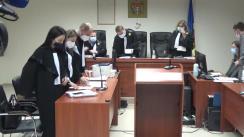 Ședința de judecată la Curtea de Apel Chișinău pe cazul omorului din satul Vulcănești, raionul Nisporeni
