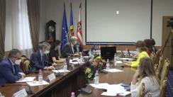 """Teleconferință Premieră: USMF """"Nicolae Testemițanu"""" a înregistrat în repozitoriul internațional GISAID datele tulpinilor de SARS-CoV-2 ce circulă pe teritoriul Republicii Moldova"""
