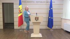 """Briefing de presă susținut de Fracțiunea parlamentară a Partidului Politic """"ȘOR"""""""