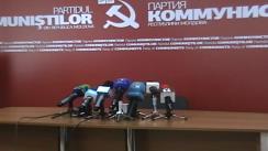 Partidul Comuniștilor din Republica Moldova - Întețirea represiilor politice față de reprezentanții și adepții PCRM, organizate de către actuala guvernare