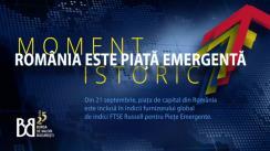 """Evenimentul """"România emergentă"""", organizat de Bursa de Valori București"""