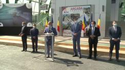 """Declarații după deplasarea test cu trenul pe conexiunea feroviară """"Gara de Nord – Aeroportul Internațional Henri Coandă – Otopeni"""""""