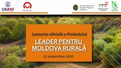 Lansarea oficială a proiectului LEADER pentru Moldova Rurală