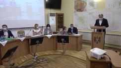 """Prezentarea de către membrii Asociației """"Master's Plan"""" din Moscova, Federația Rusă, a rezultatelor analizei prealabile privind situația pe teren și a planului de lucru pentru elaborarea Planului de amenajare a municipiului Chișinău"""