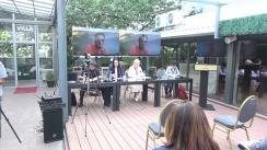 """Conferința internațională """"Transformările politice în România, Belarus și Ucraina: lecții pentru Moldova"""". Organizatori: Portal de știri """"Enews.md"""", Compania """"Intellect Group"""", Asociația obștească """"SPERO"""""""