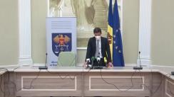 Briefing de presă susținut de Ministerul Justiției privind avizul de astăzi al Curții Constituționale