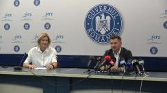 Conferință de presă susținută de Ministrul Tineretului și Sportului, Ionuț Stroe