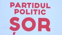 """Conferință de presă susținută de Partidul Politic """"ȘOR"""""""