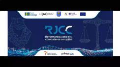 """Forumul """"Reformarea justiției și combaterea corupției"""", ziua 1"""