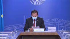 Ședința Guvernului României din 24 septembrie 2020