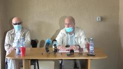 Conferință de presă organizată de Federația Națională a Pensionarilor din România